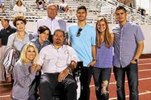 Bengals community supporting graduate battling ALS