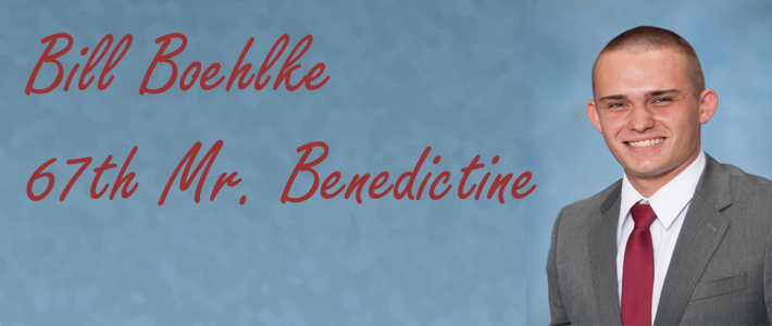Congratulations ~ Man of Benedictine