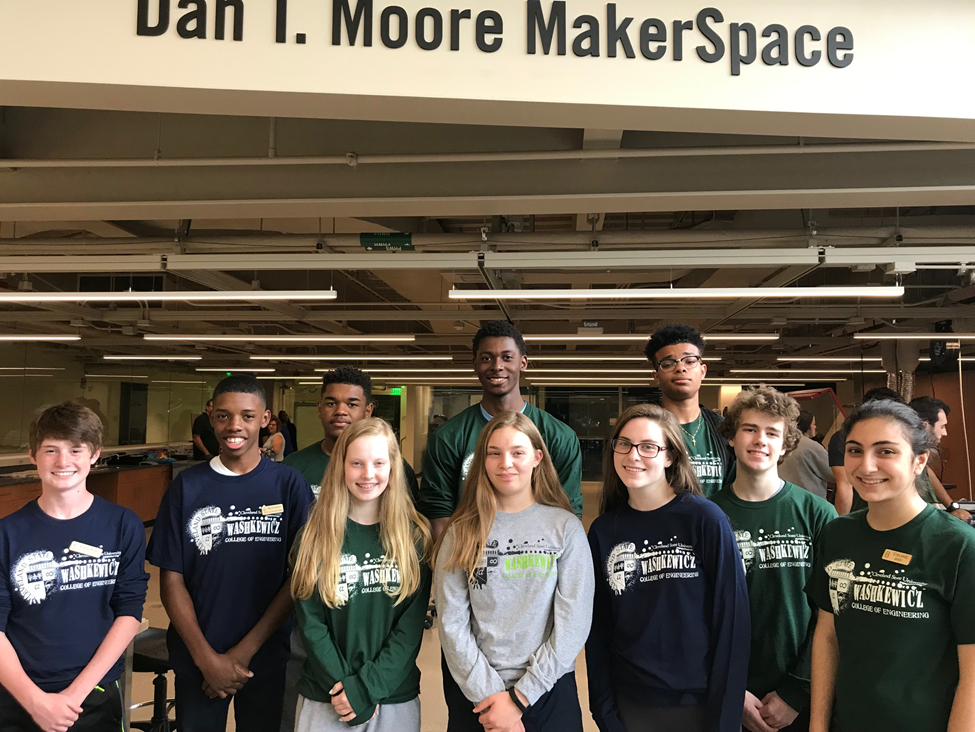"""MakerCamp"" with Cleveland State Engineering"