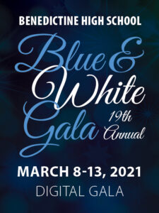 19th Annual Blue and White Gala March 8-13, 2021 Digital Gala